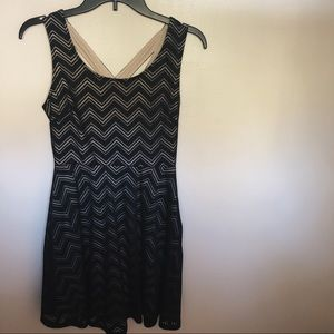 Zig Zag Casual Dress